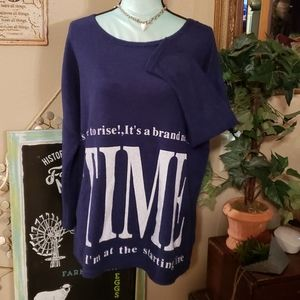 SJ Company Lightweight Grapic Sweatshirt